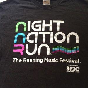 NIGHT NATION RUN T-SHIRT MED